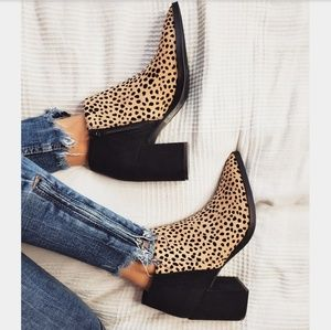 Shoes - 🆕️//The Alena// leopard print bootie